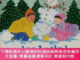 二手書博民逛書店원리가罕見보이는 과학35·날씨:눈이 내려(SNOW IS FALLING)韓文原版-《科學