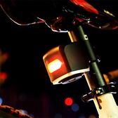 可充電電動車自行車防盜尾燈報警器