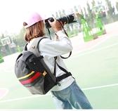店長推薦 相機包民族風新款男女通用專業單反相機包戶外旅行大容量攝影雙肩包igo