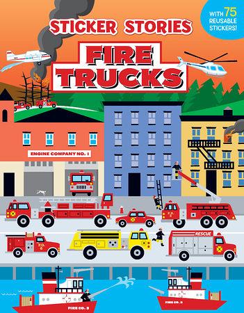 FIRE TRUCKS  /貼紙書