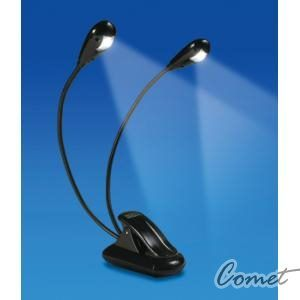 【小新的樂器館】  譜燈 雙頭LED六段開關譜架燈