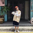 百搭單品純色V領毛線針織背心馬甲女韓國m0832  『米菲良品』