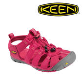 KEEN Clearwater CNX 女 紅色 #8769 護趾避震越野涼鞋