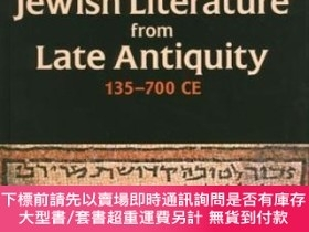 二手書博民逛書店Handbook罕見Of Jewish Literature From Late Antiquity, 135-7