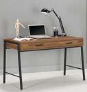 【森可家居】漢諾瓦4尺書桌 7CM363-1 工業風 木紋質感