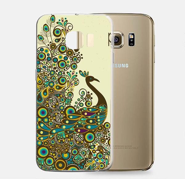 ♥ 俏魔女美人館 ♥Samsung Galaxy S7 {孔雀*立體浮雕軟殼} 手機殼 手機套 保護殼