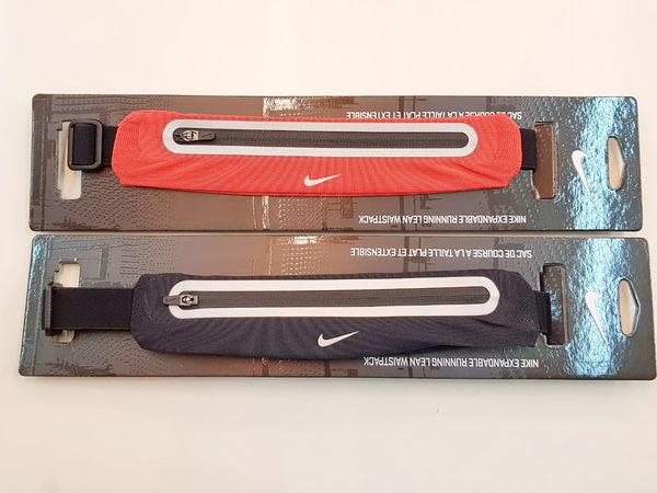 NIKE 運動腰包 / 擴充式薄型腰帶 / 可放6.3吋手機-2色