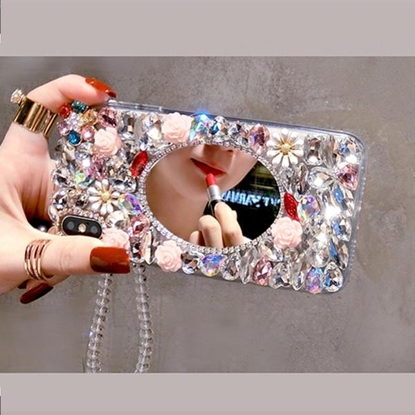OPPO Reno5Z pro A73 A72 A91 Reno4 Find X2 2Z A53 凡爾賽花園 手機殼 水鑽殼 訂製