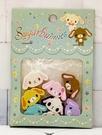 【震撼精品百貨】Sugarbunnies 蜜糖邦尼~三麗鷗蜜糖邦尼~造型橡皮擦-8入*83020