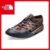 【The North Face 男 多功能水陸鞋《棕/紫檀紅》】CCF6/休閒/戶外/朔溪鞋/機能鞋