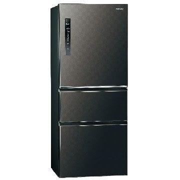 Panasonic 國際牌500公升三門變頻冰箱 NR-C509HV-K(星空黑)
