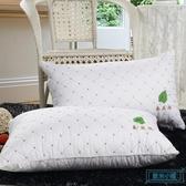 枕頭 【一只】}枕頭枕芯正品成人家用舒適整頭情侶單人羽絲絨柔軟枕心 歐米小鋪