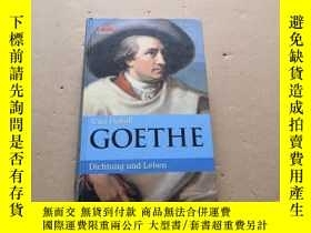二手書博民逛書店德語原版Curt罕見Hohoff GOETHEY6886 請看圖 請看圖 出版2006