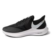 Nike ZOOM WINFLO 6 [AQ7497-001] 男鞋 運動 休閒 慢跑 輕量 健身 透氣 氣墊 避震 黑