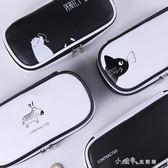 文具盒男女日韓簡約中小學生兒童大容量創意PU多功能筆袋女鉛筆盒 小確幸生活館