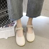 娃娃鞋瑪麗珍單鞋女2020年秋季新款大頭娃娃鞋女仙女風軟底舒適豆豆鞋女 非凡小鋪