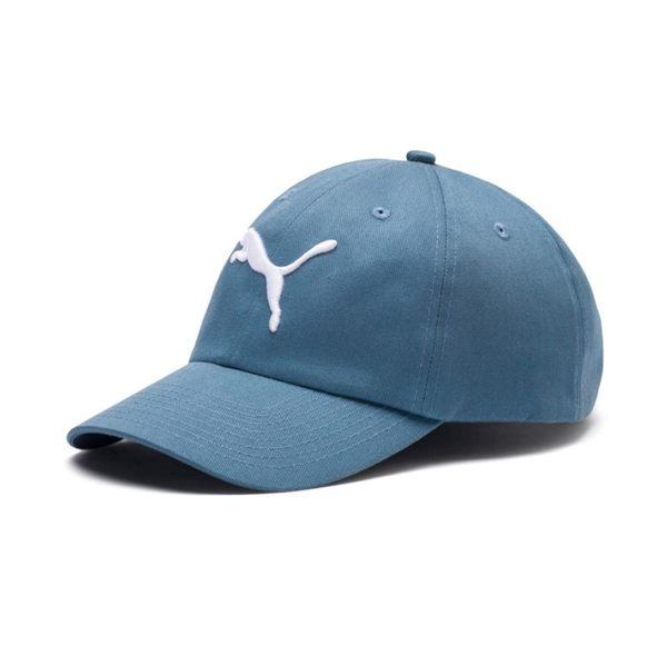 PUMA 丈藍 刺繡LOGO 棒球帽 老帽 可調 男女皆可戴 (布魯克林) 02241603
