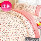 【McQueen‧麥皇后】《赤帽与狼》精梳棉單人床包二件組