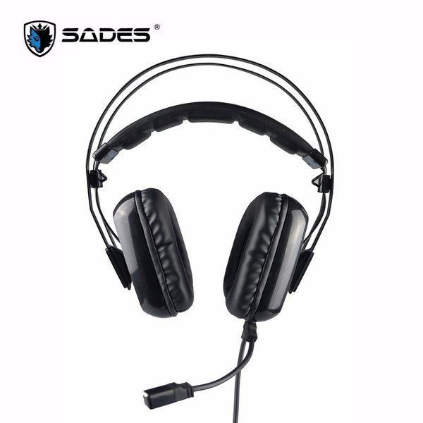 【台中平價鋪】全新 賽德斯 SADES Antenna 阿蒂娜 SA-919S 輕量化電競耳麥 7.1 (USB) 遊戲耳機麥克風