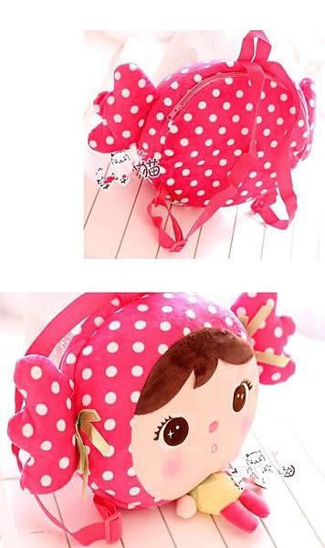 【發現。好貨】正品咪兔metoo吉寶可愛卡通書包 女孩後背包 雙肩包 兒童書包