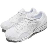 Mizuno 慢跑鞋 Maximizer 20 白 全白 基本款 男鞋 女鞋 運動鞋【PUMP306】 K1GA1802-01