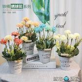 假花盆栽創意干花裝飾花室內客廳插花小擺設裝飾品餐桌仿真花擺件 城市玩家