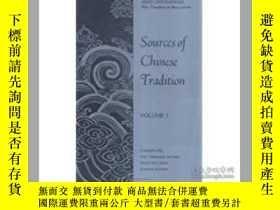 二手書博民逛書店Sources罕見of Chinese Tradition: v