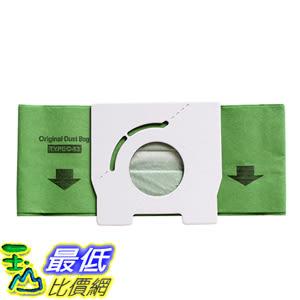 適用於 國際 Panasonic C-13 吸塵器副廠紙袋垃圾袋MC-CA291/293 /391/393 10入裝 ( M34)