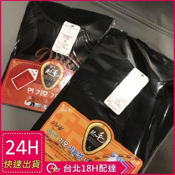 梨卡★現貨 - 韓國製韓國大品牌男女極致保暖黑色發熱衣R6019