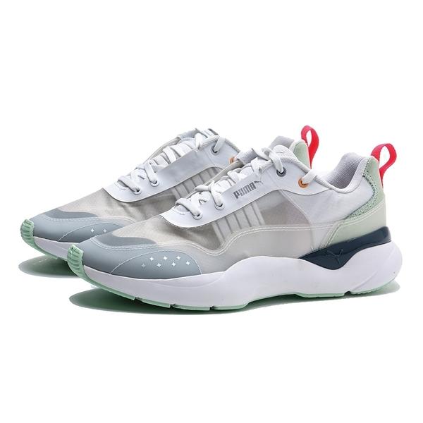 PUMA 休閒鞋 LIA SHEER WN`S 白 粉綠 透明 深藍橘 運動鞋 女 (布魯克林) 37173501