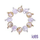 ides愛蒂思 限量時尚輕珠寶十二星座天然珍珠母貝項鍊(雙色24選1)