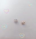 晴日小舖 Silver 純銀 進口桃心型後扣 素銀無電鍍 1對價 [ spp 005 ]