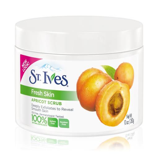 St. Ives 聖愛維斯 杏桃角質磨砂霜/磨砂膏283g【UR8D】