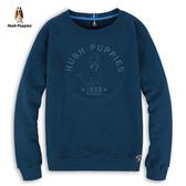 Hush Puppies 大學T 男裝刺繡狗圖騰拉克蘭袖上衣
