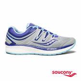 SAUCONY HURRICANE ISO 4 專業訓練鞋款-淺灰x藍紫