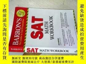 二手書博民逛書店Barron s罕見SAT Math Workbook, 5th