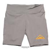 NIKE 短褲 W FAST SHORT 灰色 健身 重訓 緊身短褲 運動短褲 女 (布魯克林) CU6264-016