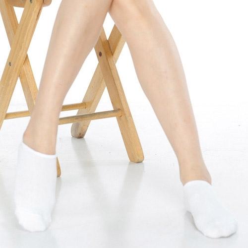 【南紡購物中心】【KEROPPA】可諾帕網狀造型女船襪x4雙C97001白