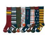 【韓風童品】(8雙/組)男女童高筒襪 長筒襪 造型襪 百搭襪 嬰幼兒棉質襪 男童女童高統襪