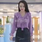 女士襯衫韓版時尚襯衣顯瘦減齡百搭女上衣糖果色休閒襯衫氣質襯衣 快速出貨