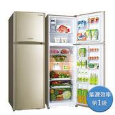 6期0利率 SANLUX台灣三洋 冰箱 380L雙門變頻電冰箱 SR-C380BV1 鈦金色