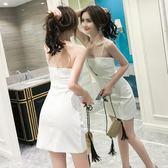 夏裝2019新款夜場性感女裝修身顯瘦小個子吊帶裙小心機包臀連身裙