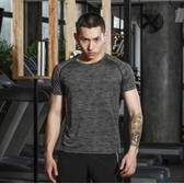 速乾衣戶外速干t恤女短袖透氣網眼彈力跑步速干衣男情侶快干運動健身T恤 毅然空間