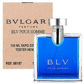 BVLGARI 寶格麗 藍茶男性淡香水 100ml-Tester包裝