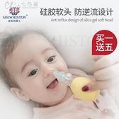 寶寶吸鼻器嬰兒鼻屎清潔器兒童嬰幼兒新生兒清理吸取鼻涕屎神器「Chic七色堇」