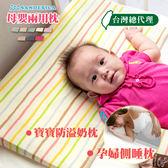 (台灣總代理)嬰兒枕 寶寶枕 防吐奶枕【FA0005-S】SANDESICA寶寶枕頭 防溢奶枕/托腹枕