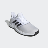 ADIDAS 19FW 進階款  男網球鞋 GameCourt系列  CG6336 贈護腕【樂買網】