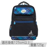 《新品》【IMPACT】怡寶輕量護脊書包-英倫格紋系列-深藍 IM00367NY