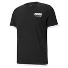 Puma Court 男 黑色 短袖 上衣 基本系列 棉質 短T 圓領衫 短袖T恤 84581301