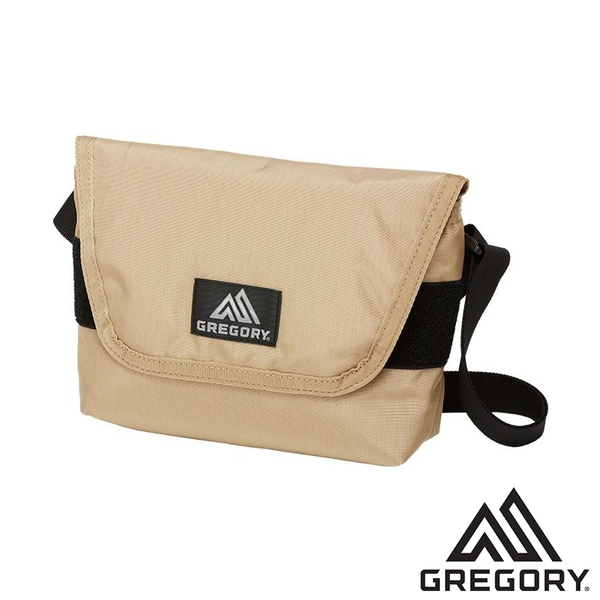 【美國 GREGORY】TEENY郵差包4L『砂色』110148 登山|露營|戶外|小包|收納袋|手機袋